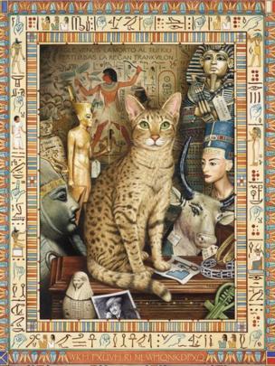 Egypt cat conundrum