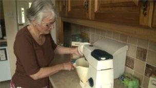 Ann Barlow + mixer