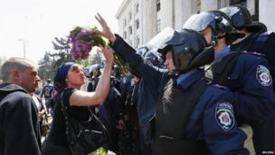 Confrontation in Odessa, 3 May