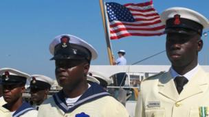 Nigerian sailors in Charleston, USA - Wednesday 7 May 2014