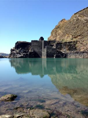 The Blue Lagoon in Abereiddy, Pembrokeshire.
