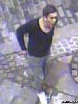 CCTV image of Josh Thomas