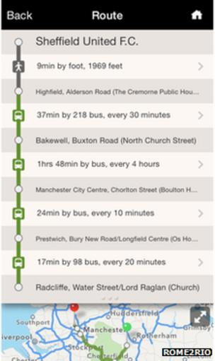 Google Maps adds Great Britain public transport data - BBC News