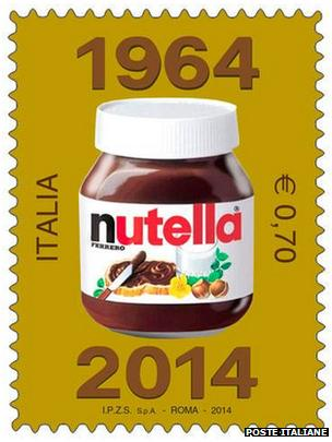 Nutella stamp