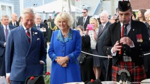The Prince of Wales and Duchess of Cornwall in Canada
