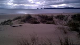 Swansea Bay and the Mumbles