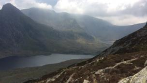 Tryfan and Cwm Idwal