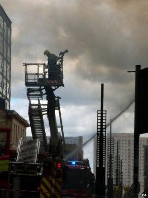Fireman ladder
