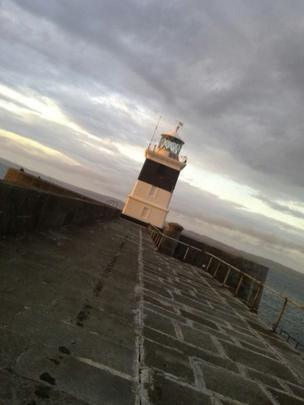 Holyhead's breakwater lighthouse