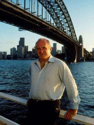 Clive James in Sydney, 1991