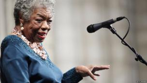 Maya Angelou in February 2009