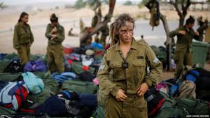 An Israeli soldier of the Caracal battalion
