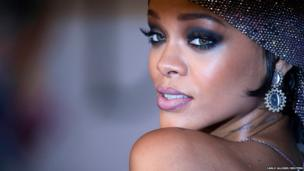 Singer Rihanna arrives for the Council of Fashion Designers of America Awards
