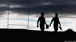 Keven Mealamu and Nathan Harris arrive for a New Zealand All Blacks training session