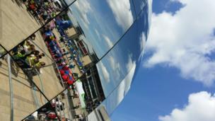 Queen's Baton relay in Bristol