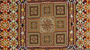 Crimean quilt by unknown artist