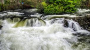 River Llugwy at Betws-y-Coed, Conwy