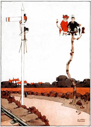 The elaborate appeal of Heath Robinson - BBC News