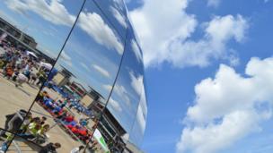 The Planetarium in Millennium square, Bristol