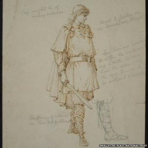 Sir Lawrence Alma-Tadema, Costume design for Dame
