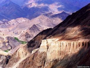 Mountains near Leh, India