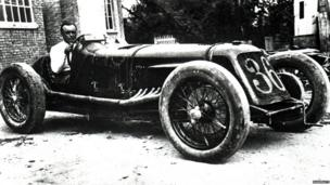 Baconin Borzacchini in his Maserati V4
