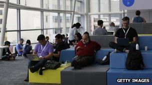 Attendees at Google I/O