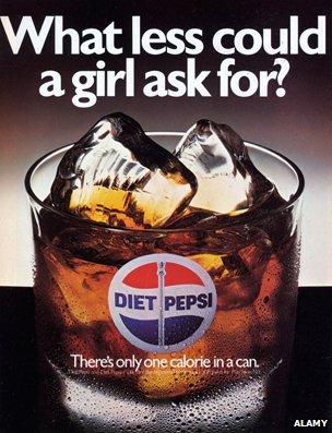 Marvelous Diet Pepsi Ad Reading