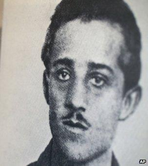 Bosnian Serb nationalist Gavrilo Princip