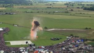 Stirling explosion