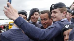 PM selfie