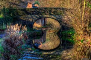 Cromford Canal, near Amber Gate in Derbyshire