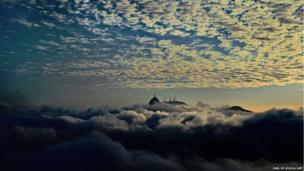 The Christ the Redemer statue is seen on Corcovado Hill in Rio de Janeiro, Brazi