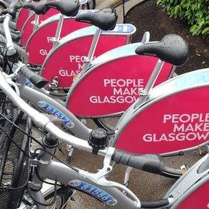 Nextbike bikes