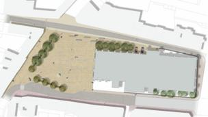 Market Square plan