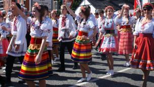 Gorymdaith Eisteddfod Llangollen