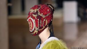 A creation for Maison Martin Margiela is modelled during the Haute Couture autumn collection fashion show in Paris