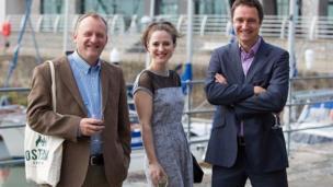 Andrew Webb, Nadia Kamil a Jasper Rees