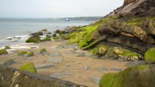 Coast at New Quay, Ceredigion