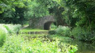 The Monmouthshire and Brecon Canal at Gilwern