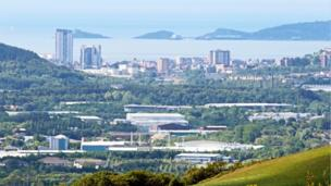 Swansea and the Mumbles