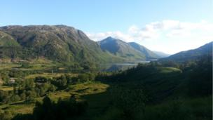 Glenfinnan monument and Loch Shiel