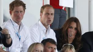 Prince Harry, Duke and Duchess of Cambridge