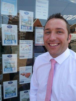 Estate agent Paul Fearon