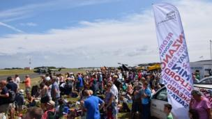 Crowds at Culdrose Air Day. Pic: Kevin Thomas