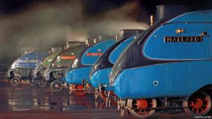 All six remaining A4 Pacific locomotives