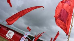 Baneri coch/ red flags