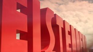 Arwydd Eisteddfod / Eisteddfod sign