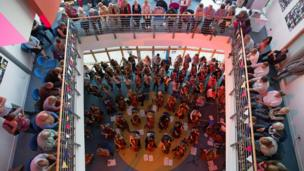 Musicians in concert