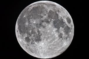 Supermoon over Larne, by Paul Evans